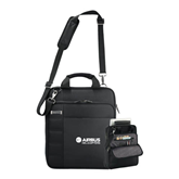 Kenneth Cole Black Vertical Checkpoint Friendly Messenger-Airbus Helicopters
