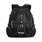 Wenger Swiss Army Mega Black Compu Backpack-Airbus Helicopters