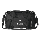 High Sierra Black Switch Blade Duffel-Airbus Helicopters