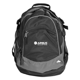 High Sierra Black Fat Boy Day Pack-Airbus Helicopters