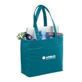 Fine Society Teal Computer Tote-Airbus Helicopters