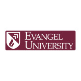 Medium Decal-Evangel University Stacked, 8 inches wide