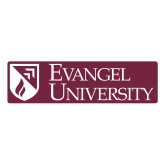 Large Decal-Evangel University Stacked, 12 inches wide