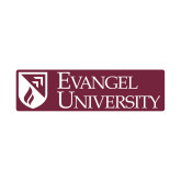 Small Decal-Evangel University Stacked, 6 inches wide