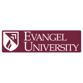 Extra Large Decal-Evangel University Stacked, 18 inches wide