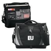 Slope Black/Grey Compu Messenger Bag-EU