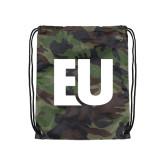 Camo Drawstring Backpack-EU