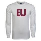 White Long Sleeve T Shirt-EU