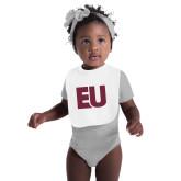 White Baby Bib-EU