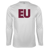 Performance White Longsleeve Shirt-EU