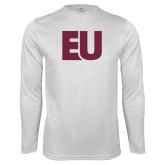 Syntrel Performance White Longsleeve Shirt-EU