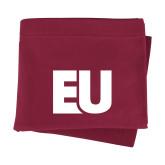 Maroon Sweatshirt Blanket-EU