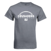 Charcoal T Shirt-Arched Football