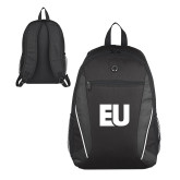 Atlas Black Computer Backpack-EU