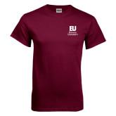Maroon T Shirt-Primary Mark