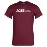 Maroon T Shirt-AGTS Evangel University