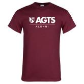 Maroon T Shirt-AGTS Alumni
