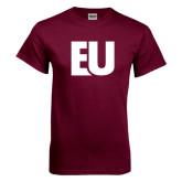 Maroon T Shirt-EU