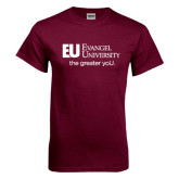 Maroon T Shirt-the greater yoU.