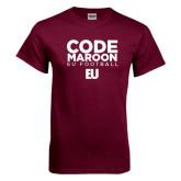 Maroon T Shirt-Code Maroon