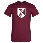Maroon T Shirt-Shield