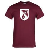 Maroon T Shirt-Shield