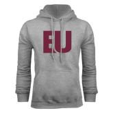 Grey Fleece Hoodie-EU