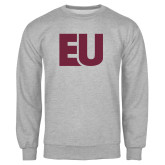 Grey Fleece Crew-EU