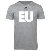 Adidas Sport Grey Logo T Shirt-EU