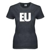 Ladies Dark Heather T Shirt-EU