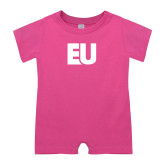 Bubble Gum Pink Infant Romper-EU