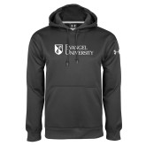Under Armour Carbon Performance Sweats Team Hoodie-Evangel University Stacked