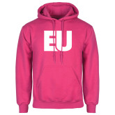 Fuchsia Fleece Hoodie-EU