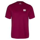 Performance Maroon Tee-EU