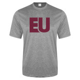 Performance Grey Heather Contender Tee-EU