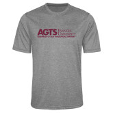 Performance Grey Heather Contender Tee-AGTS Non Formal No Shield