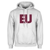 White Fleece Hoodie-EU
