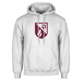 White Fleece Hoodie-Shield