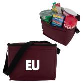 Six Pack Maroon Cooler-EU