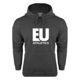 Charcoal Fleece Hoodie-Athletics