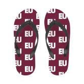 Ladies Full Color Flip Flops-EU