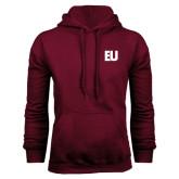 Maroon Fleece Hoodie-EU