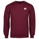 Maroon Fleece Crew-EU