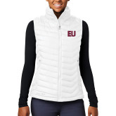 Columbia Lake 22 Ladies White Vest-EU