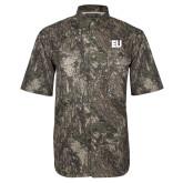 Camo Short Sleeve Performance Fishing Shirt-EU