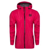 Ladies Dark Fuchsia Waterproof Jacket-EU Tone