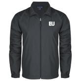Full Zip Charcoal Wind Jacket-EU