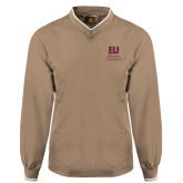 Khaki Executive Windshirt-Primary Mark