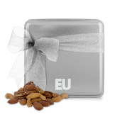 Deluxe Nut Medley Silver Medium Tin-EU  Engraved