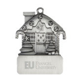Pewter House Ornament-Primary Mark Flat Engraved